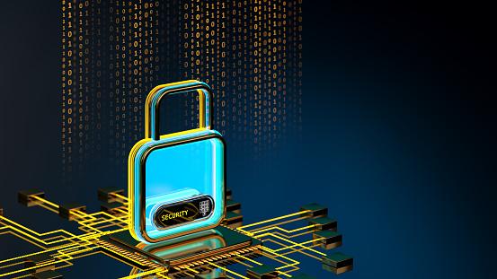 Internet of Things「Digital security concept」:スマホ壁紙(13)