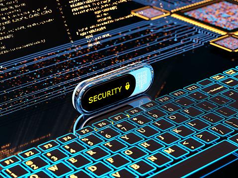 Internet of Things「Digital security key concept」:スマホ壁紙(7)