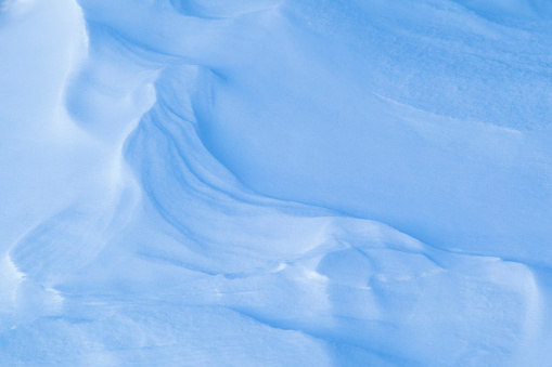 Snowdrift「Natural pattern of Snowdrifts in Yellowstone National Park, Wyoming, USA」:スマホ壁紙(15)