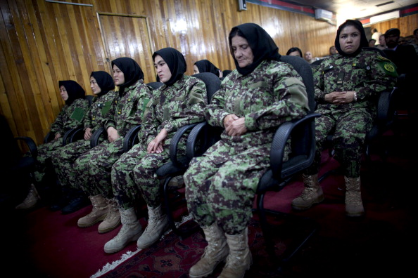 Kabul「Female soldiers of the Afghan National Army Attend Graduation Ceremony In Kabul」:写真・画像(14)[壁紙.com]