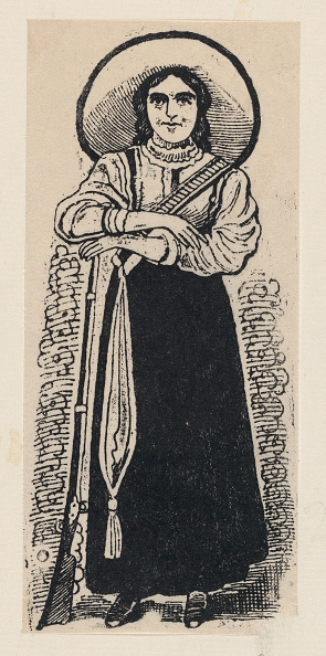 Etching「A Female Soldier Standing」:写真・画像(18)[壁紙.com]