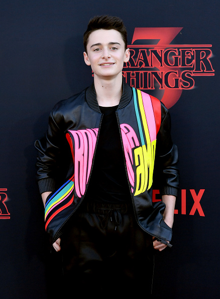 "Noah Schnapp「Premiere Of Netflix's ""Stranger Things"" Season 3 - Arrivals」:写真・画像(3)[壁紙.com]"