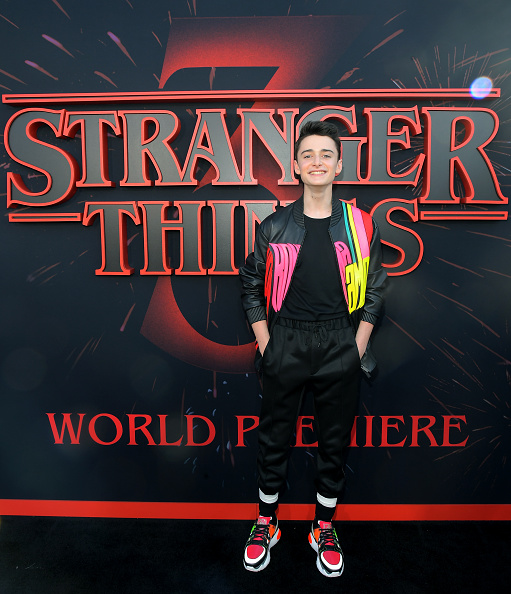 "Noah Schnapp「""Stranger Things"" Season 3 World Premiere」:写真・画像(11)[壁紙.com]"