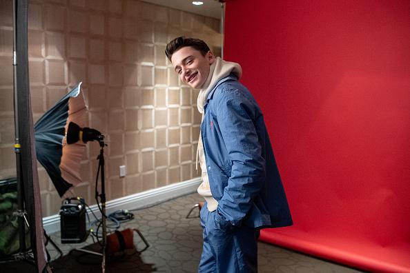 "Noah Schnapp「""Stranger Things"" Season 3 Press Day - BTS」:写真・画像(14)[壁紙.com]"
