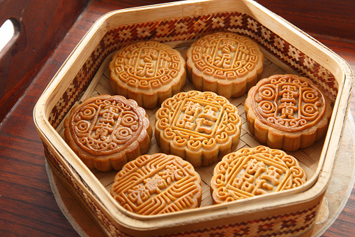伝統的な祭り「Moon cake」:スマホ壁紙(18)