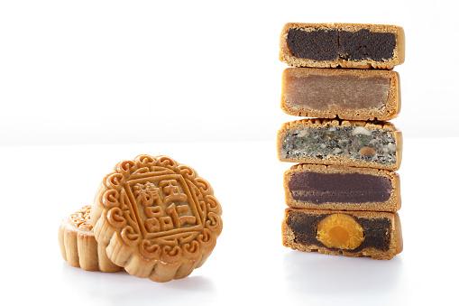 伝統的な祭り「Moon cake」:スマホ壁紙(3)