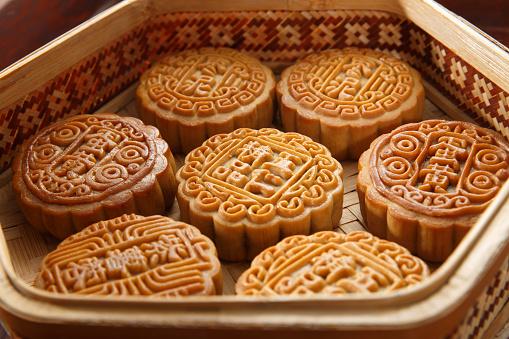 伝統的な祭り「Moon cake」:スマホ壁紙(8)