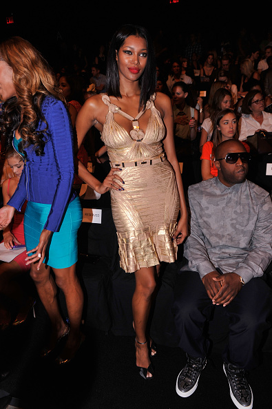 Bandage Dress「Herve Leger By Max Azria - Front Row - Spring 2013 Mercedes-Benz Fashion Week」:写真・画像(6)[壁紙.com]