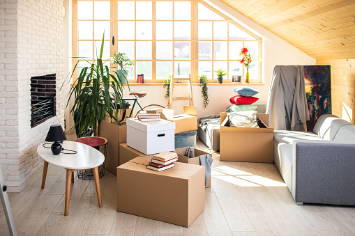 Unpacking「Everything is ready for moving out the house」:スマホ壁紙(19)