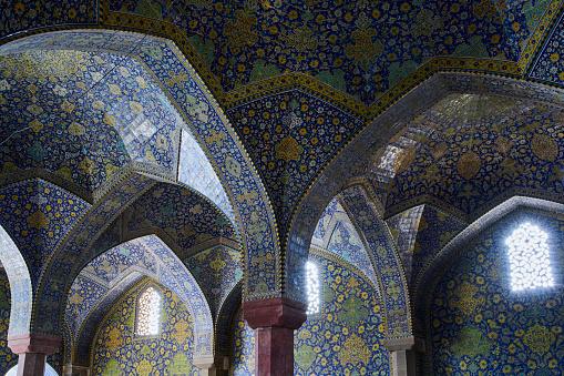 Iran「Iran, Isfahan, Friday mosque」:スマホ壁紙(14)