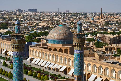 Iranian Culture「Iran, Isfahan, cityscape」:スマホ壁紙(12)