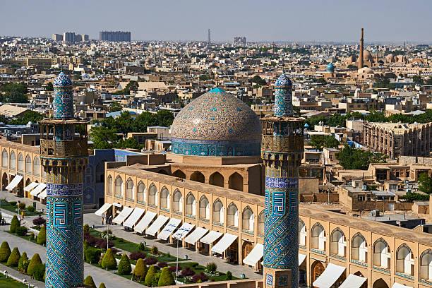 Iran, Isfahan, cityscape:スマホ壁紙(壁紙.com)