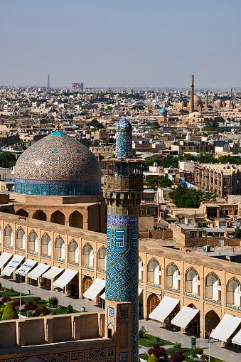 Iranian Culture「Iran, Isfahan, cityscape」:スマホ壁紙(6)