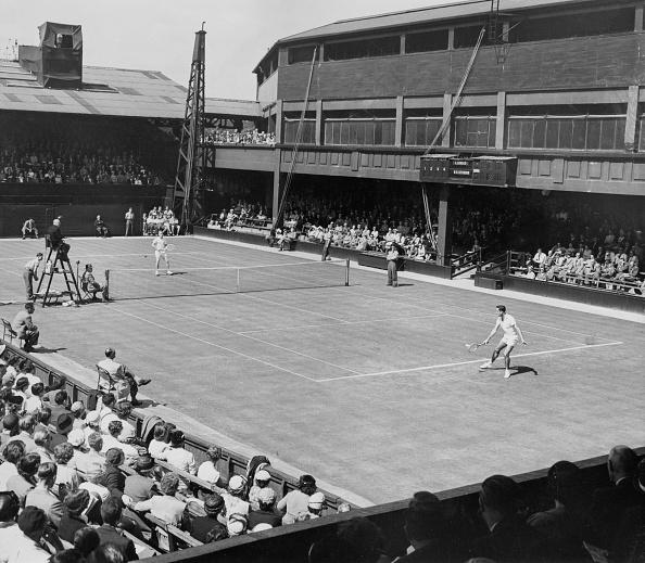 Lew Hoad「Wimbledon Lawn Tennis Championship」:写真・画像(11)[壁紙.com]