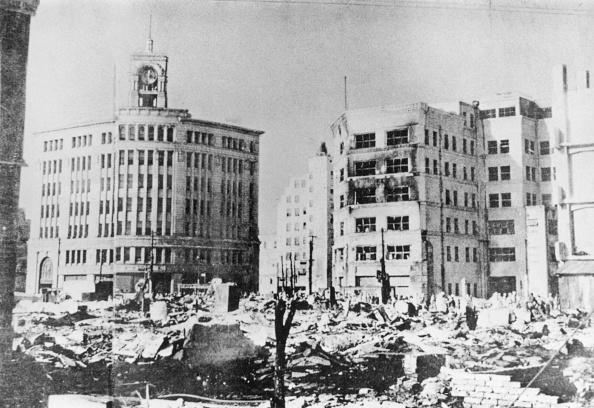 Ginza「Bomb Damage In Ginza」:写真・画像(4)[壁紙.com]