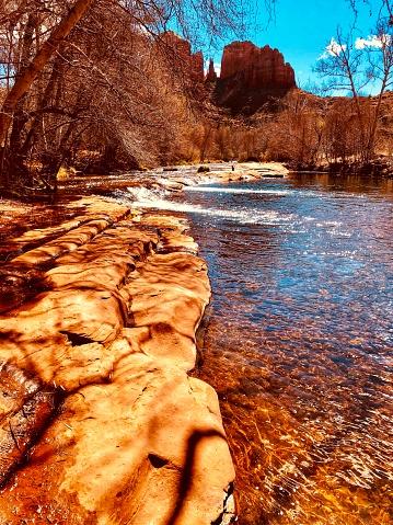 Sedona「Oak Creek canyon.  Sedona AZ」:スマホ壁紙(13)