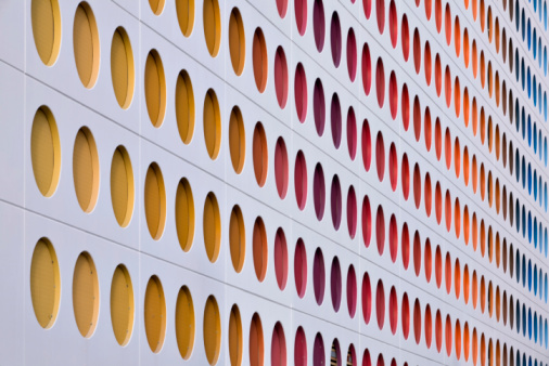 Bauhaus - Art Movement「Rainbow pattern (XL)」:スマホ壁紙(3)
