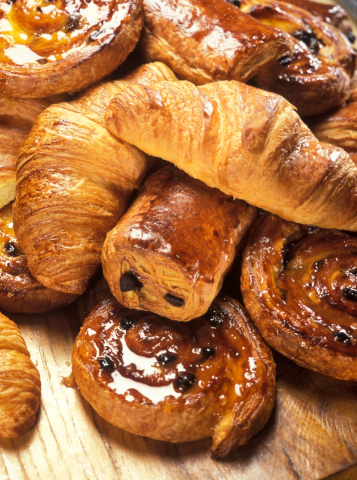 Bakery「croissants and Danish pastry」:スマホ壁紙(12)