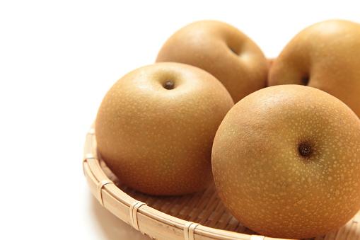 白梨「Nashi Pears」:スマホ壁紙(8)