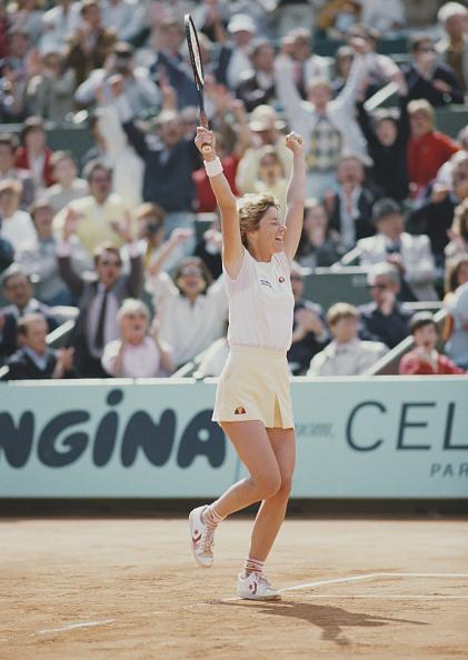 Chris Evert「French Open Tennis Championship」:写真・画像(3)[壁紙.com]