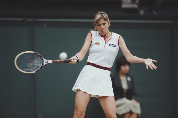 Chris Evert「Wimbledon Lawn Tennis Championship」:写真・画像(12)[壁紙.com]