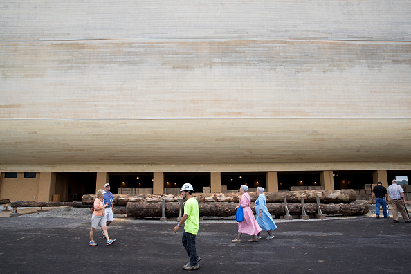 Aaron P「Creationist Builds Large Scale Noah's Ark In Northern Kentucky」:写真・画像(4)[壁紙.com]