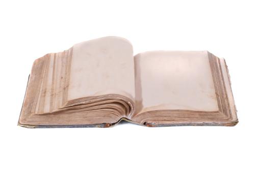 Manuscript「Empty old book」:スマホ壁紙(18)