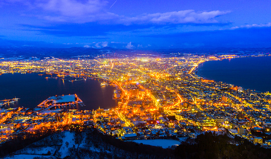 Aerial tramway「Mt. Hakodate」:スマホ壁紙(13)