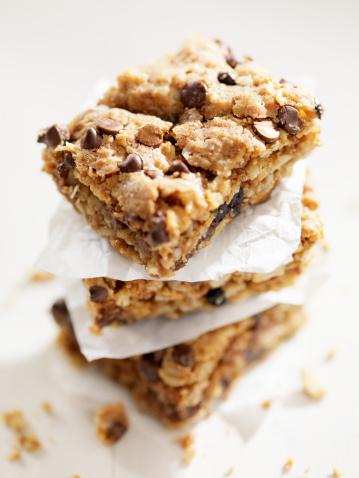 Square Shape「Gluten Free, Chocolate Chip Dessert Squares」:スマホ壁紙(2)