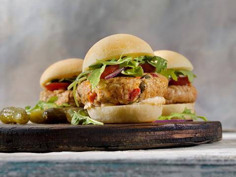 Veggie Burger「Gluten Free Veggie Burger Sliders with Gluten Free Buns」:スマホ壁紙(5)