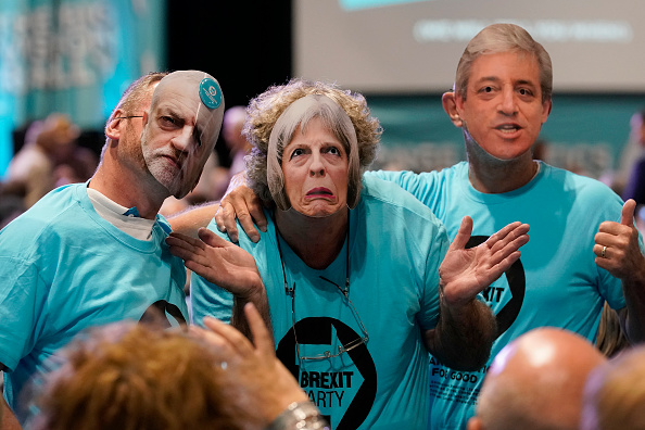 Brexit「The Brexit Party Hold Their Big Vision Rally In Birmingham」:写真・画像(12)[壁紙.com]