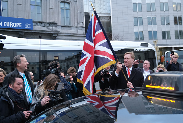 Capital Region「Brexit MEPs Leave The European Parliament For The Last Time」:写真・画像(4)[壁紙.com]