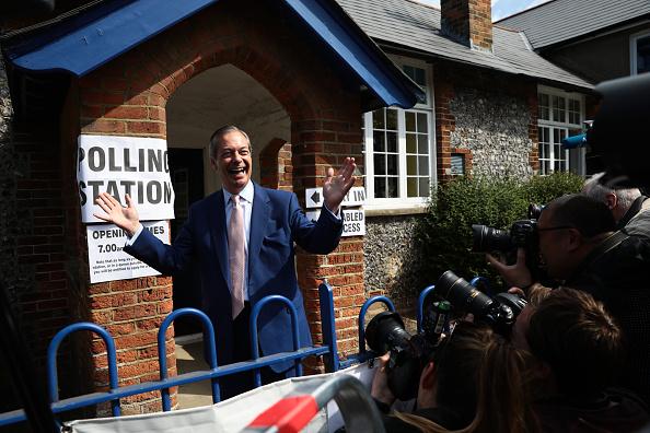 Europe「British Political Figures Vote In The European Elections」:写真・画像(16)[壁紙.com]