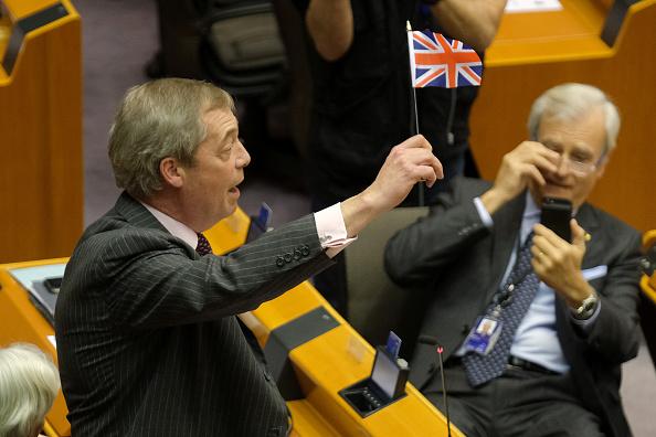 Brexit「EU Parliament Approves Brexit Deal In Historic Session」:写真・画像(4)[壁紙.com]