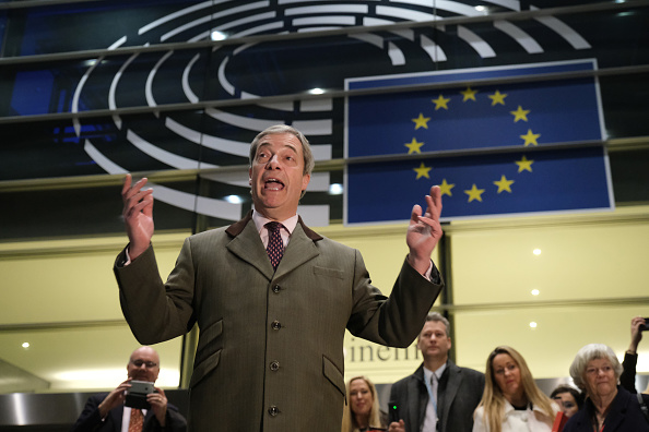Parliament Building「EU Parliament Approves Brexit Deal In Historic Session」:写真・画像(4)[壁紙.com]