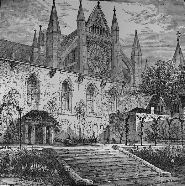 Gothic Style「'Garden Of Ashburnham House', 1890」:写真・画像(9)[壁紙.com]
