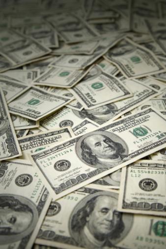 American One Hundred Dollar Bill「Money Background」:スマホ壁紙(13)