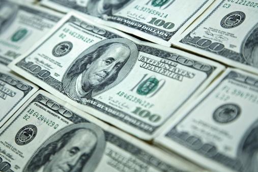 American One Hundred Dollar Bill「Money Background」:スマホ壁紙(11)