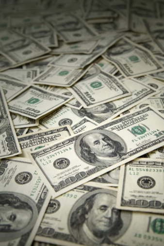 American One Hundred Dollar Bill「Money Background」:スマホ壁紙(12)