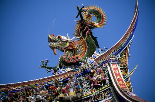 Dragon「Confucius Temple in Taipei」:スマホ壁紙(19)