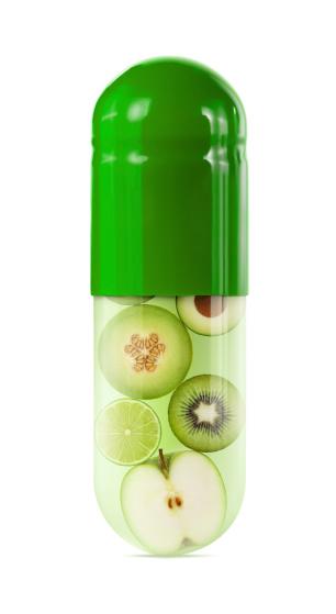 メロン「グリーンのフルーツと野菜のカプセル」:スマホ壁紙(19)
