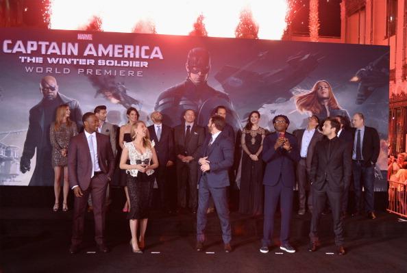 "Emily VanCamp「Premiere Of Marvel's ""Captain America: The Winter Soldier"" - Red Carpet」:写真・画像(2)[壁紙.com]"