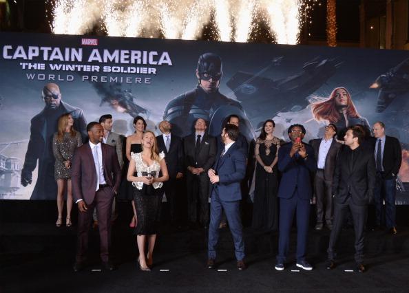 "Emily VanCamp「Premiere Of Marvel's ""Captain America: The Winter Soldier"" - Red Carpet」:写真・画像(5)[壁紙.com]"