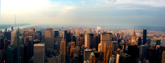 Shadow「Skyline view from the Empire state building」:スマホ壁紙(1)