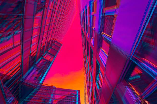 Vibrant architecture:スマホ壁紙(壁紙.com)