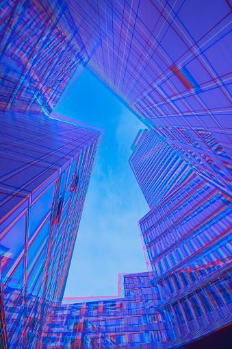 Multiple Exposure「Vibrant architecture」:スマホ壁紙(11)