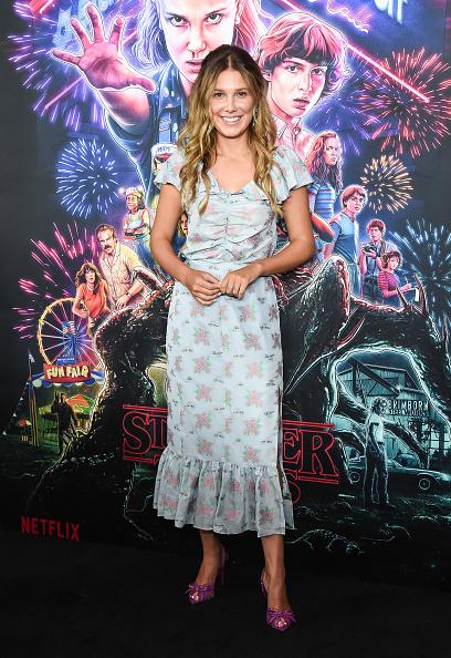"""Scooped Neck「""""Stranger Things"""" Season 3 New York Screening」:写真・画像(7)[壁紙.com]"""