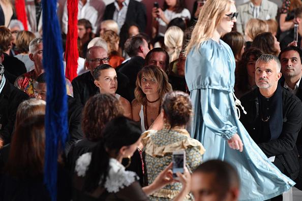 Dia Dipasupil「Calvin Klein Collection - Front Row - September 2017 - New York Fashion Week」:写真・画像(7)[壁紙.com]
