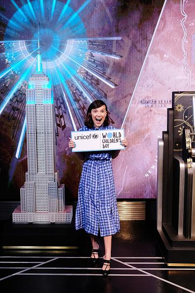 Empire State Building「Millie Bobby Brown Lights The Empire State Building In Honor Of Unicef And World Children's Day」:写真・画像(12)[壁紙.com]