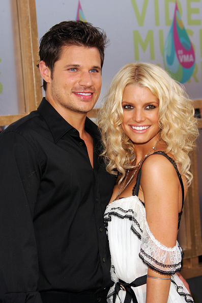 Jessica Simpson「2005 MTV VMA's Hosted By Diddy - Arrivals」:写真・画像(13)[壁紙.com]